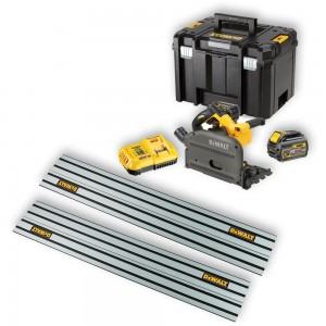 DeWALT DCS520T2XR Plunge Saw 54V Kit with 2 Rails
