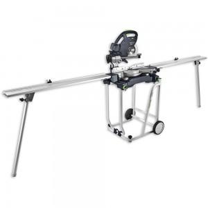 Festool KS 60-UG-Set/XL Mitre Saw, UG Base With R & L Extensions