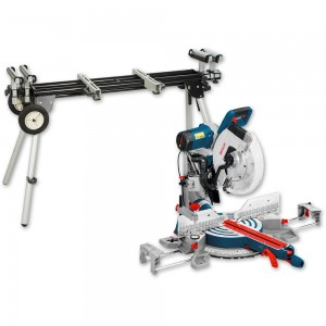 Bosch GCM 12 GDL 305mm Axial-Glide Mitre Saw & Stand
