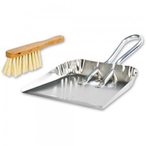 Bigmouth Dust Pan & Dusting Brush