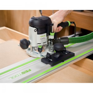 "Festool OF 1010 EBQ-Set -FS Router (1/4"" & 8mm) &  800mm Guide Rail"