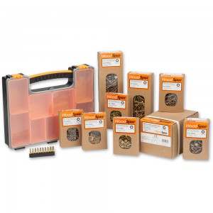 Woodspur Torx Trade Packs & Organiser Case