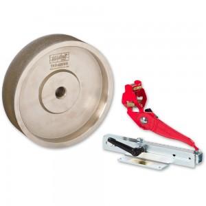 Woodcut Tru-Grind Sharpening System & 40mm Wide CBN Grinding Wheel