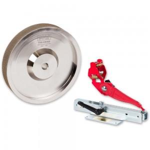 Woodcut Tru-Grind Sharpening System & 25mm Wide CBN Grinding Wheel