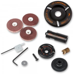 Arbortech Mini TURBO Plane Kit & TURBO Plane Blade