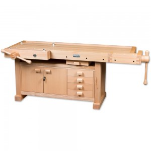 Axminster Premium Pro Workbench & Pro 2 Cupboard
