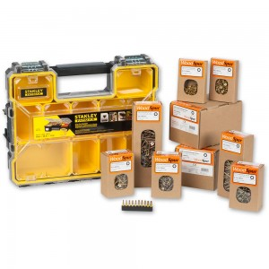 Woodspur Torx Trade Pack & Stanley FatMax Pro Organiser