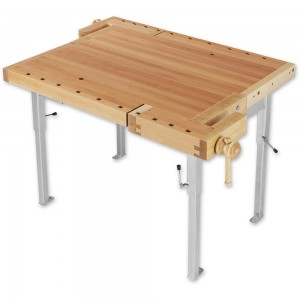 Sjobergs 2 Position Bench With Height Adjustable Steel Stand