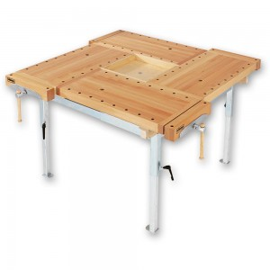 Sjobergs 4 Station Bench With Adjustable Steel Stand