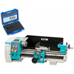 Axminster Engineer Series SC4 Bench Lathe & Cutter Package