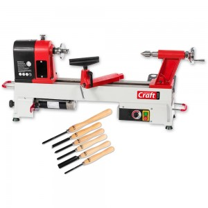 Axminster Craft AC305WL Woodturning Lathe & Turning Tool Set Package