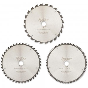 Axcaliber Contract 254mm Saw Blades Pack Of 3