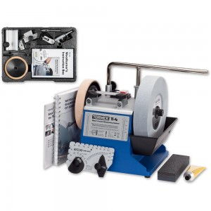 Tormek T-4 Sharpening System With TNT-808 Woodturner's Kit