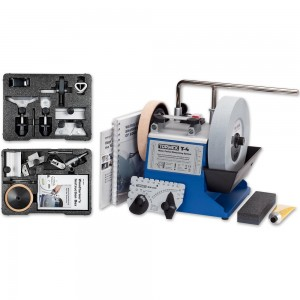 Tormek T-4 Sharpening System With HTK-806 Hand Tool & TNT-808 Woodturner's Kits