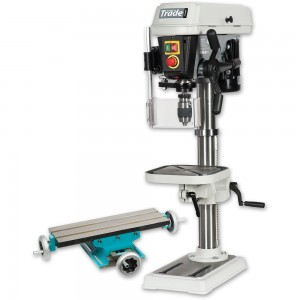 Axminster Trade AT340PD Bench Drill & AE475CT Compound Table