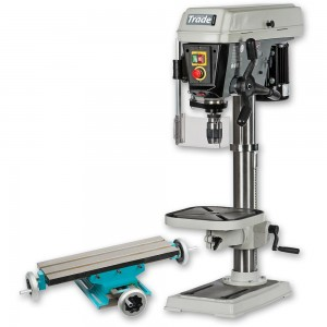 Axminster Trade AT325PD Bench Drill & AE475CT Compound Table