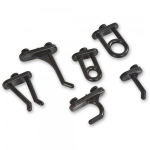 Axminster Panel Storage System Hooks (Pkt 36)