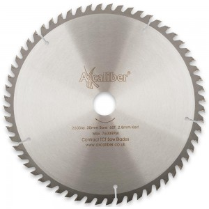 Axcaliber Contract 260mm TCT Saw Blades