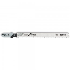 Bosch T101B Clean Wood Cutting Jigsaw Blades