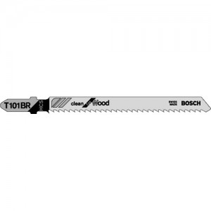 Bosch T101BR Reverse Cutting For Wood Jigsaw Blades