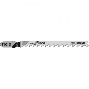 Bosch T101D Fast Wood Cutting Jigsaw Blades