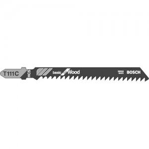 Bosch T111C Wood Cutting Jigsaw Blades