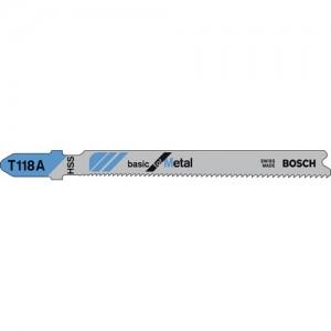 Bosch T118A Metal and Acrylic Glass Cutting Jigsaw Blades