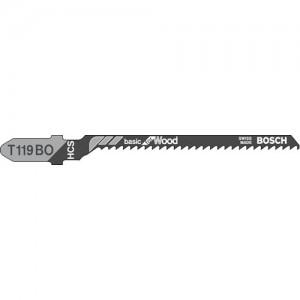 Bosch T119BO Tight Curved Wood Cutting Jigsaw Blades