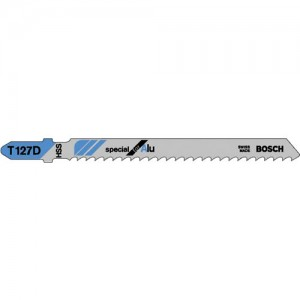 Bosch T127D Metal and Plastic Cutting Jigsaw Blades
