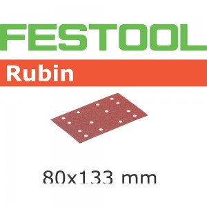 Festool Rubin 2 Abrasive Sheets - 80 x 133mm