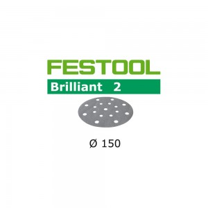 Festool Brilliant 2 Abrasive Discs 150mm (Pkt 10)