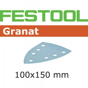 Festool Delta Granat Abrasive Sheets 100 x 150mm
