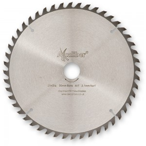 Axcaliber Contract 254mm Thin Kerf TCT Saw Blade