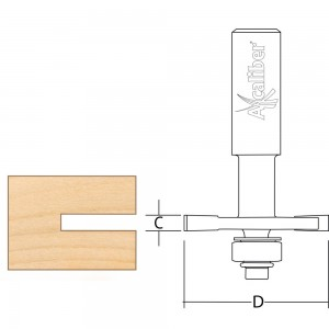 Axcaliber Biscuit Jointing Cutter