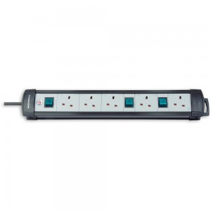 Brennenstuhl 5-Way Multi-Switched Socket Outlet 3m