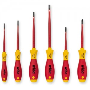 Wiha 6 Piece slimFix VDE Screwdriver Set