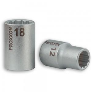 "Proxxon 1/2"" Drive Sockets for XZN-Screws"
