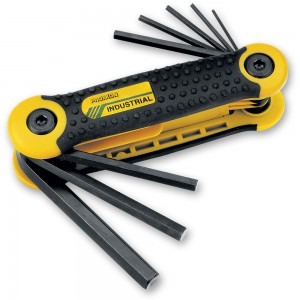 Proxxon 8 Piece Folding Metric Hex Key Set