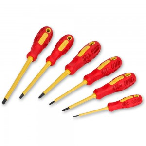 Proxxon 6 Piece VDE Screwdriver Set (Ph & Slot)
