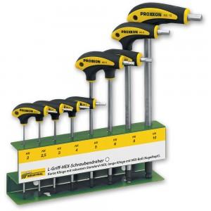 Proxxon 8 Piece L-Handle Metric Hex Key Set