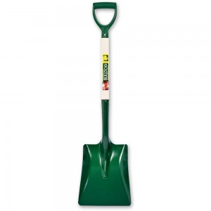 Bulldog No.2 Contractor's Square Mouth Shovel YD-Handle