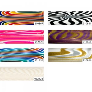'Run Wild' Polyester Project Blanks