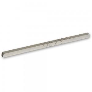 "Axminster Nickel Chrome Tool Steel Square - 3/8"" x 4"""