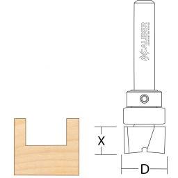"Trend Ovolo Panel Cutter Router Bit 1//4/"" shank New Dia 25 x depth 12.7 mm cut"