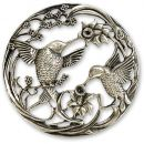 Craftprokits Pewter Lid - Two Birds