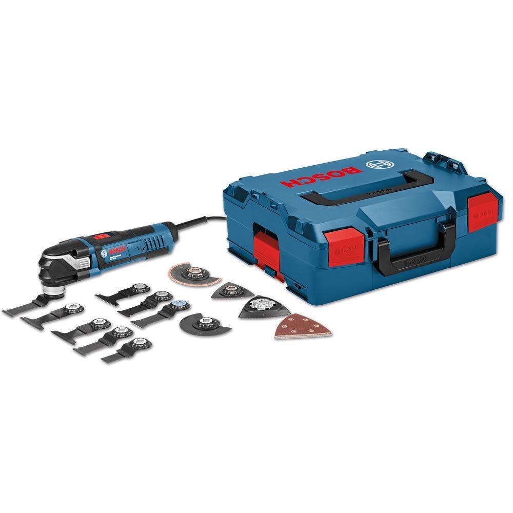 Bosch Multi-Cutter GOP 40-30 mit 5-teiligem Messer-Set in L-BOXX