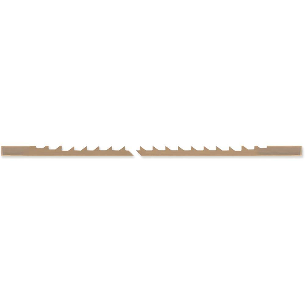 Pegas Metal Cutting Scroll Saw Blades 0-52tpi Pkt 12