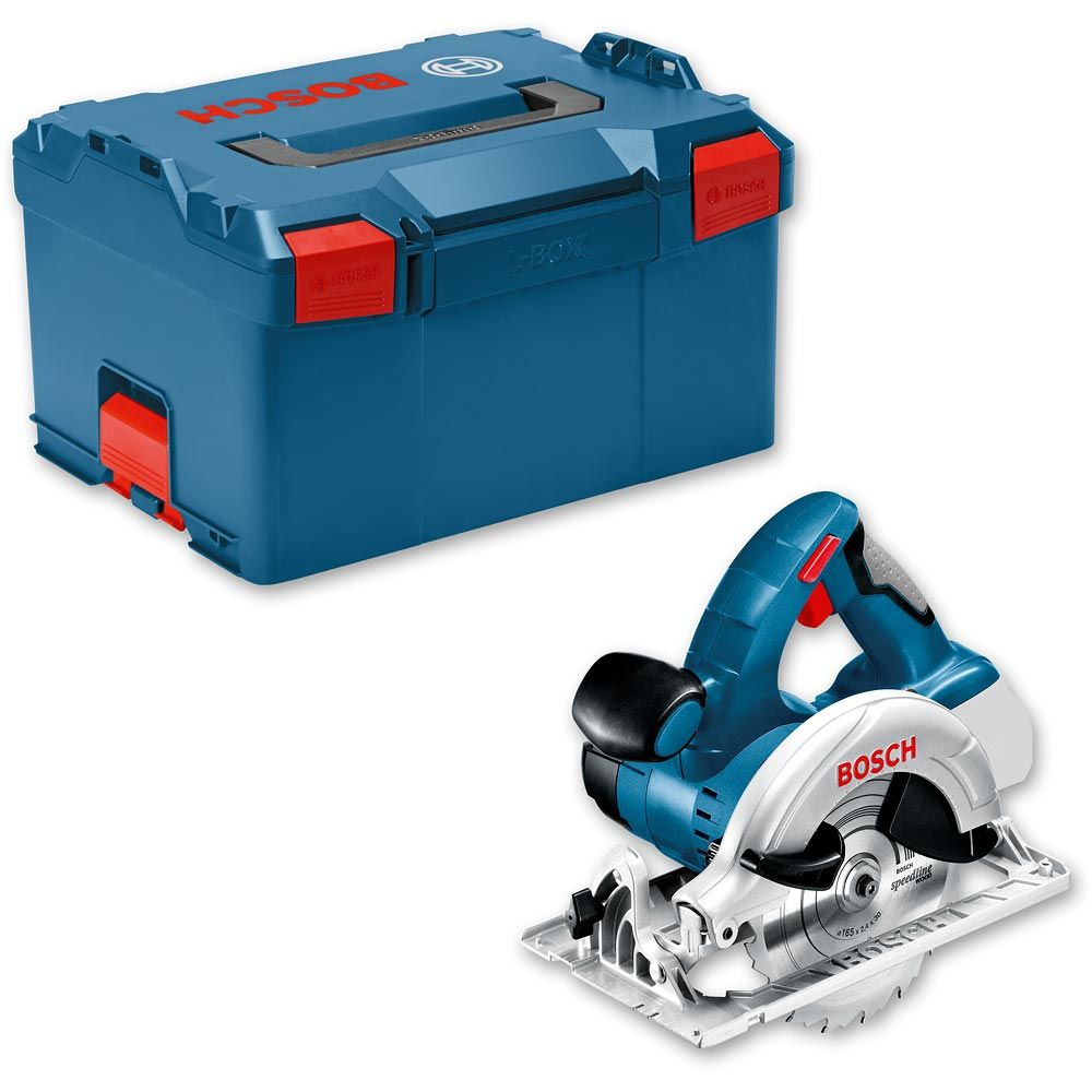 Bosch Gks 18 V Li Cordless Circular Saw Li Ion L Boxx 18v Body Only Axminster Tools
