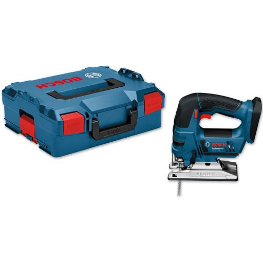 Bosch GST 18 V-LI B Bow Grip Jigsaw 18V In L-BOXX (Body Only)