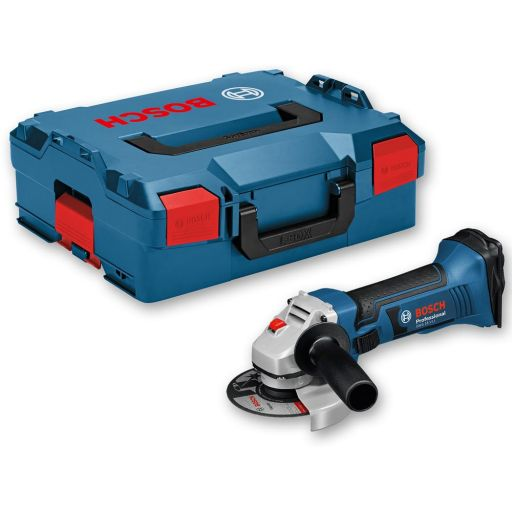 Bosch GWS 18 V-LI Angle Grinder 18V in L-Boxx 115mm (Body Only)